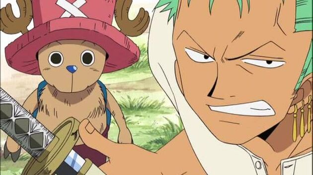 One Piece - Episode 136 - Zenny of the Island of Goats and the Pirate Ship in the Mountains!