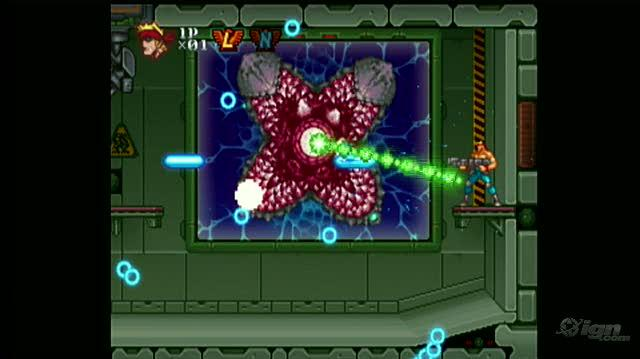 Contra ReBirth Nintendo Wii Gameplay - Level 1 Gameplay