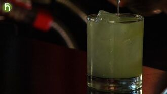 How to make the Monstre Verte cocktail