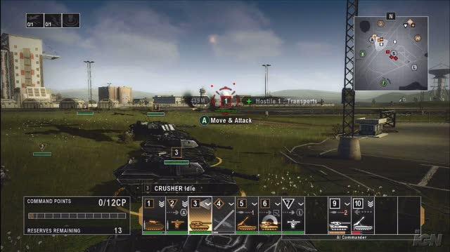 Tom Clancy's EndWar Xbox 360 Preview - EndWar Video Preview