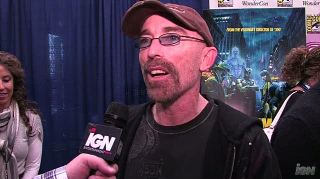 Watchmen Movie Interview - WC 09 Jackie Earle Haley