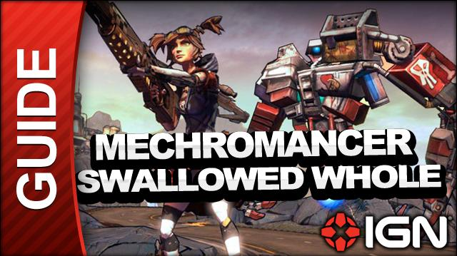 Borderlands 2 Mechromancer Walkthrough - Swallowed Whole - Side Mission