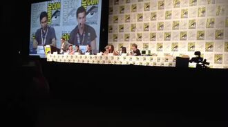 Adventure Time SDCC Panel 2014 - Olivia Olson and Jeremy Shada Sing