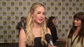 The Hunger Games - Mocking Jay Pt2 Comic-Con Jennifer Lawrence Interview