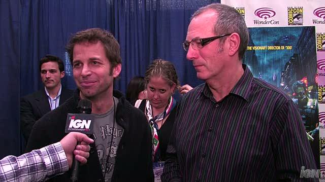 Watchmen Movie Interview - WC 09 Zack Snyder and Dave Gibbons