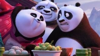 Kung Fu Panda 3 Mei Mei Ribbon Dance (UK)