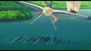 """The Wind Rises - """"Flying Through Town"""" Clip"""