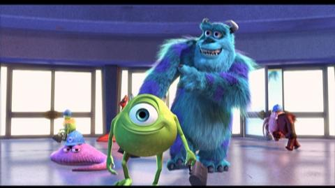 Monsters Inc. 3D Rerelease (2001) - Theatrical Trailer for Monsters Inc.