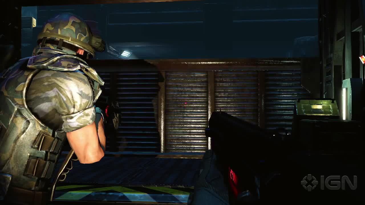 Aliens Colonial Marines Escape Mode Trailer