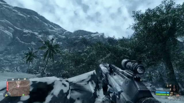 Crysis Warhead PC Games Gameplay - GC 2008 Alien Takedown (Off Screen)