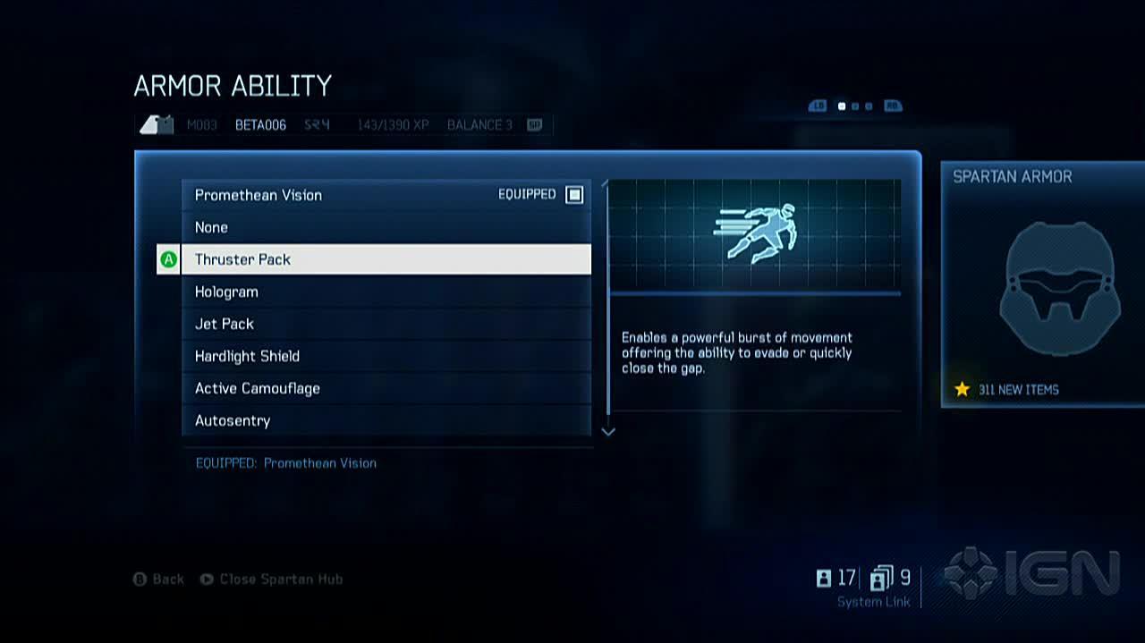 Halo 4 - Armor Abilities Walkthrough