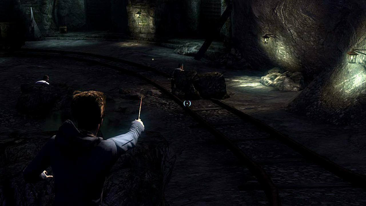 Harry Potter Deathly Hallows Part 2 - Cave Combat