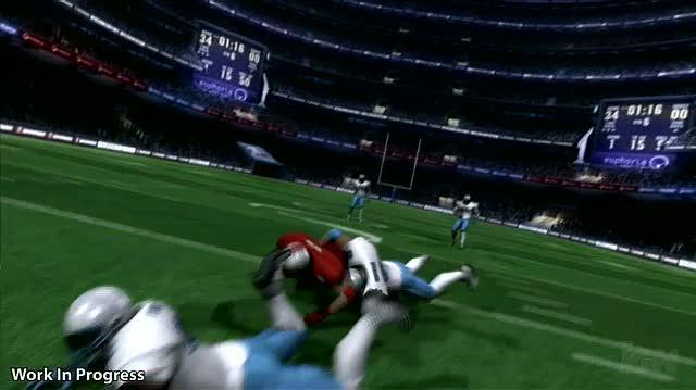Backbreaker Xbox 360 Gameplay - Live Gameplay