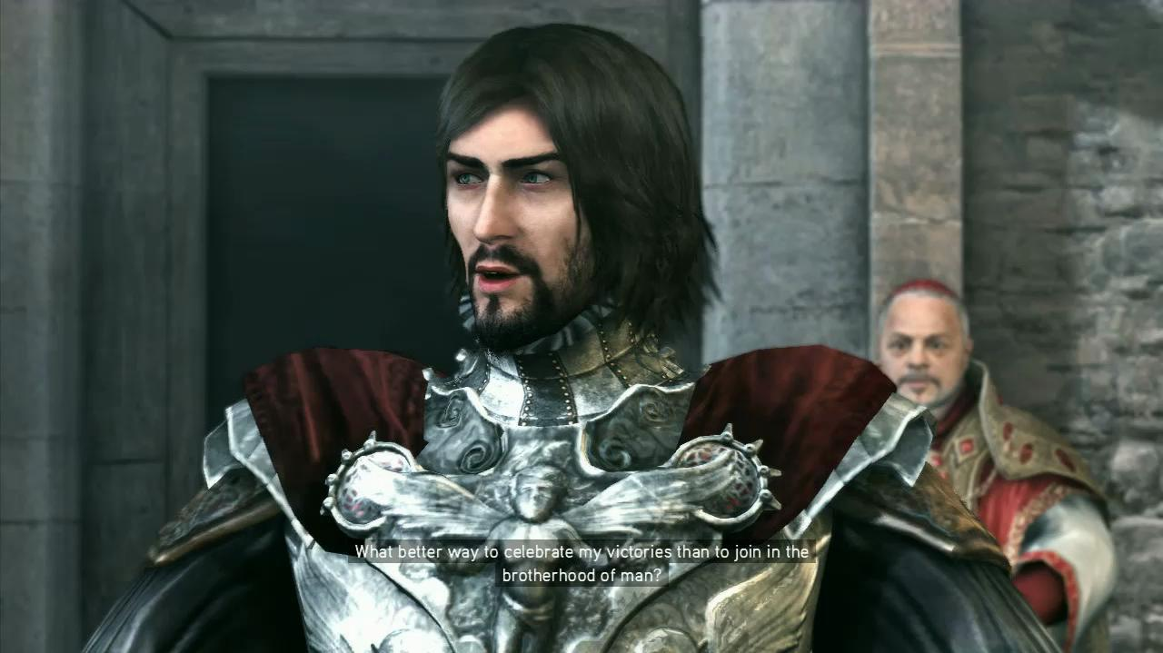 NextGenWalkthroughs Assassin's Creed Brotherhood - Seq 5 - In and Out - Cutscene