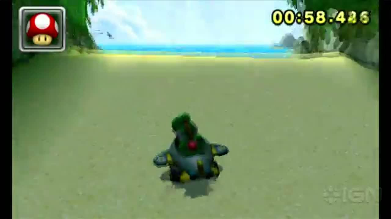 Mario Kart 7 Koopa Beach Time Trial