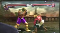 Tekken Revolution Gameplay Off Screen (King vs