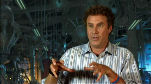 """Megamind (2010) - Interview """"Will Ferrell On Megamind Mispronouncing Words In The Film"""""""
