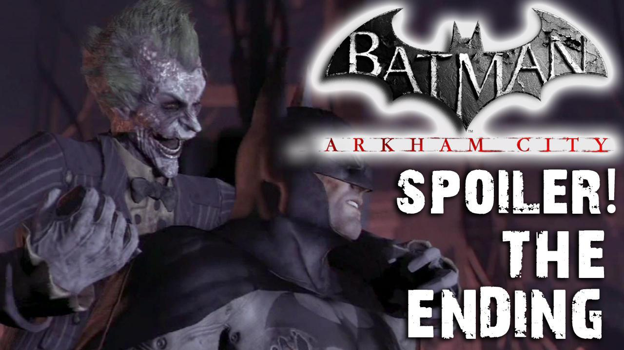 Spoiler - The Ending of Batman Arkham City