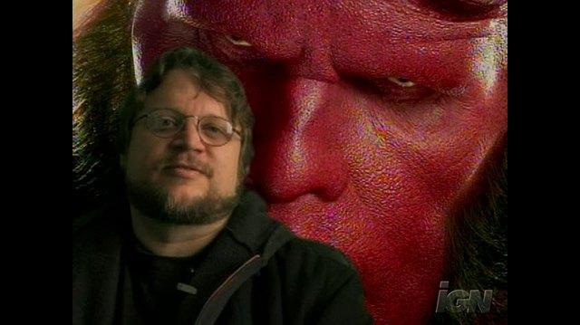 Hellboy II The Golden Army Movie Video - Guillermo Del Toro Trailer Intro