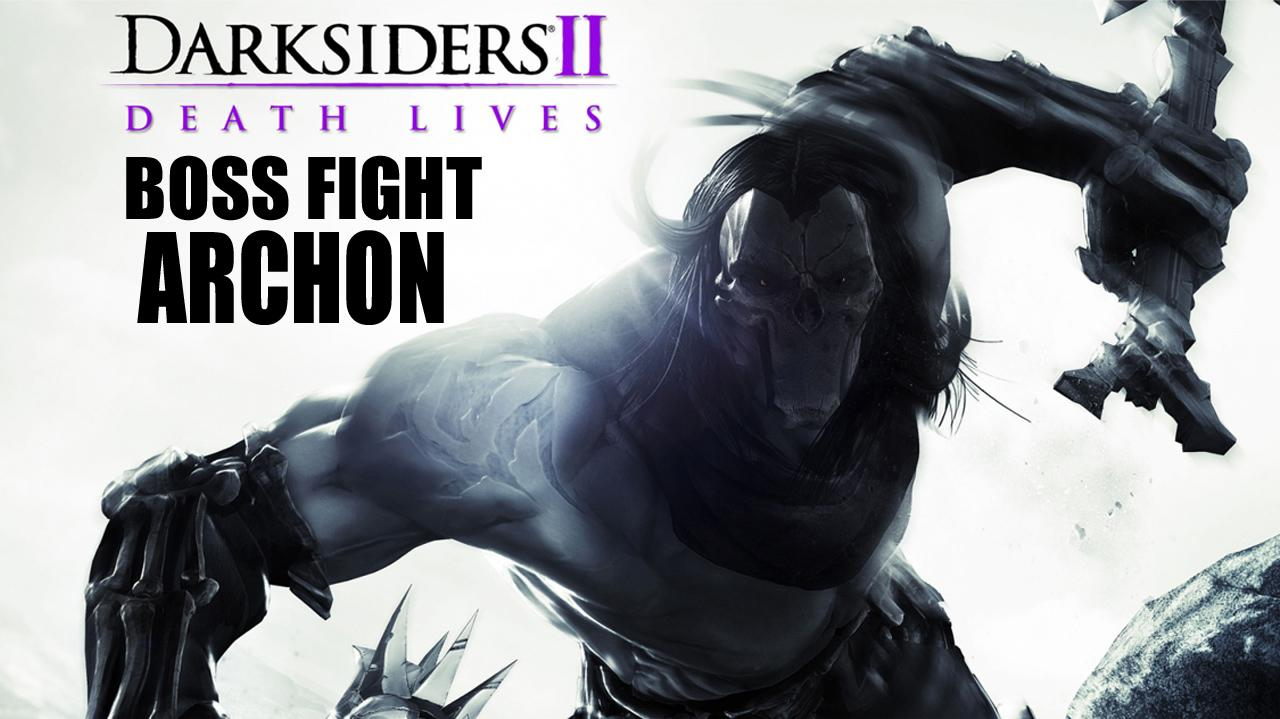 Darksiders II Boss Fight Archon - Gameplay