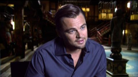 "Inception (2010) - Interview Leonardo DiCaprio ""On the moving sets"""