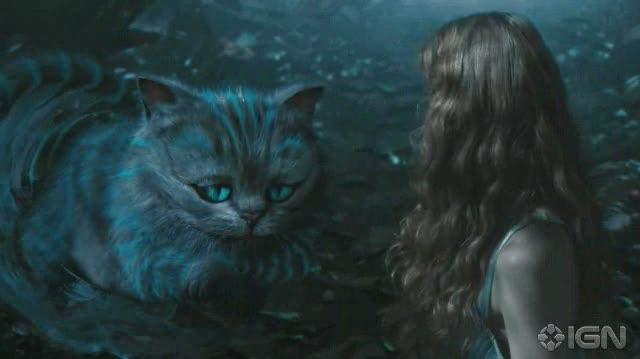 Alice in Wonderland (2010) Movie Clip - The Cheshire Cat