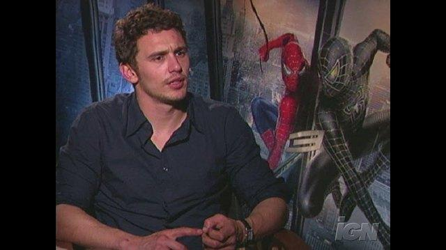 Spider-Man 3 Movie Interview - James Franco