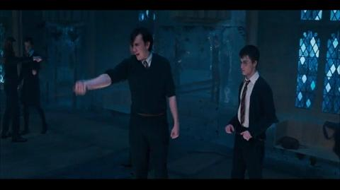 Harry Potter and the Order of the Phoenix - Christmas practice