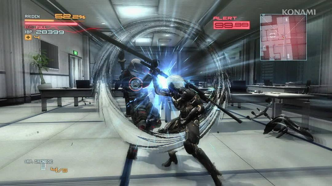 Metal Gear Rising Revengeance Cyborg Troops