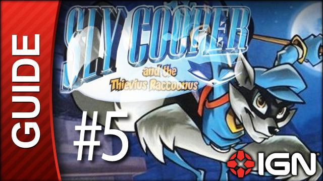 Sly Cooper Thievius Raccoonus Walkthrough - 5 Episode 1 Hub Prowling the Grounds