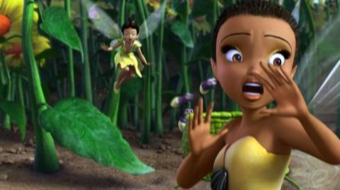 Tinker Bell (2008) - Clip Sprinting Thistles, post