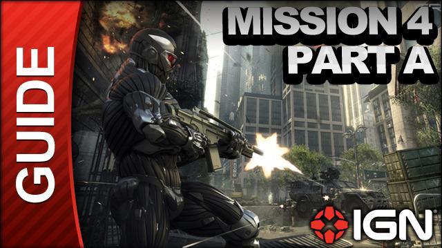 Crysis 2 - Mission 4 Part A Lab Rat - Walkthrough