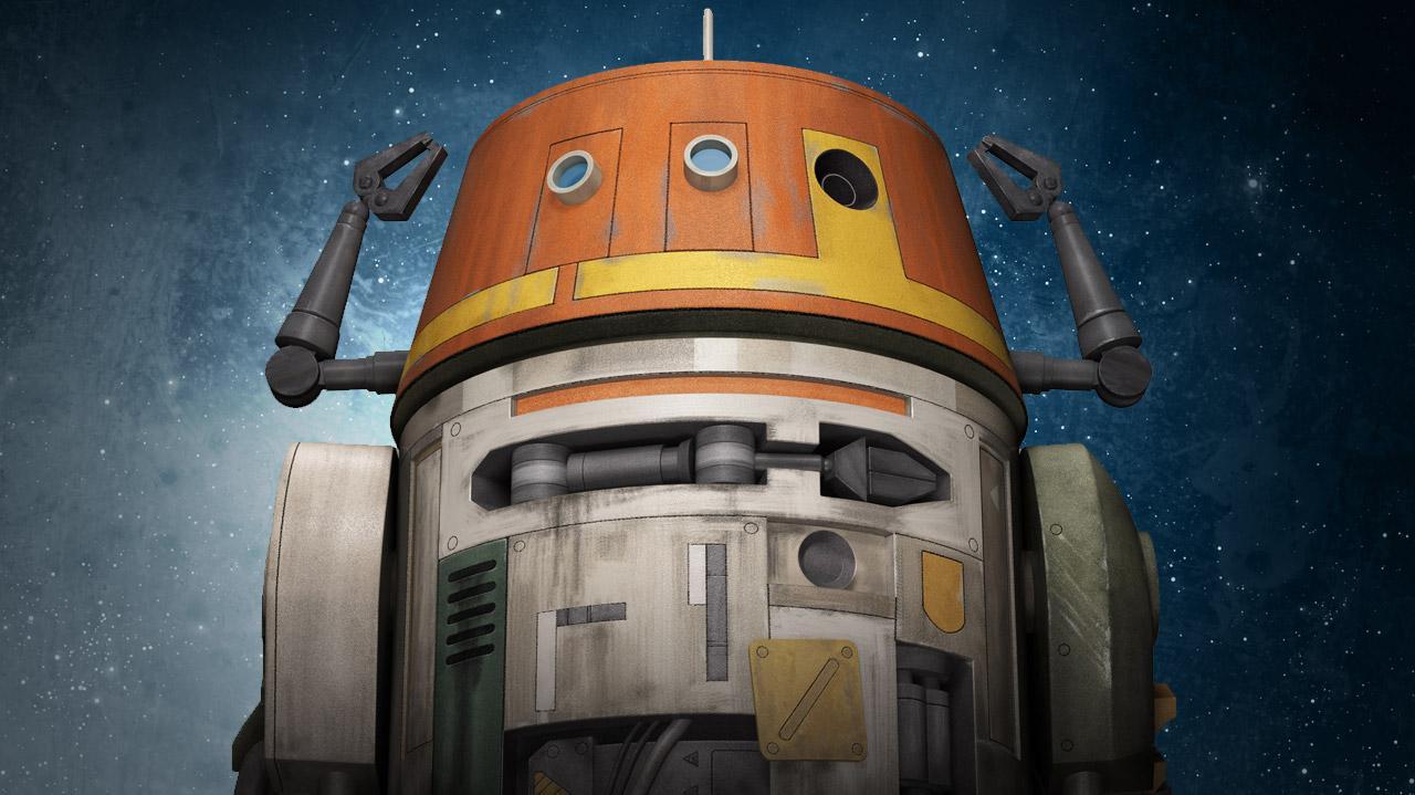 Star Wars Rebels Introducing Chopper