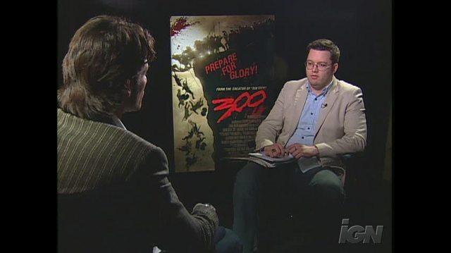 300 Movie Interview - Rodrigo Santoro