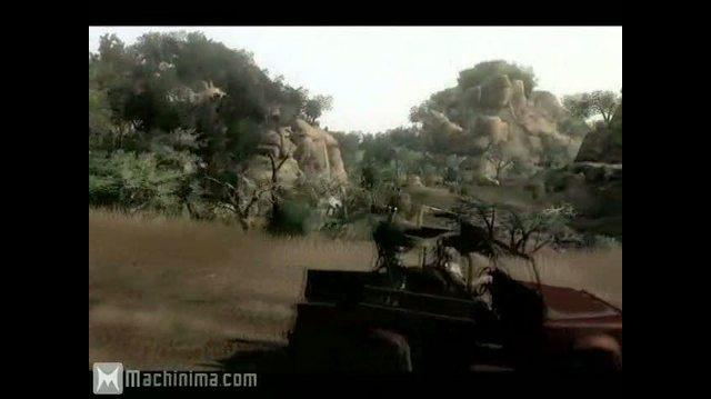 In the Game Far Cry 2