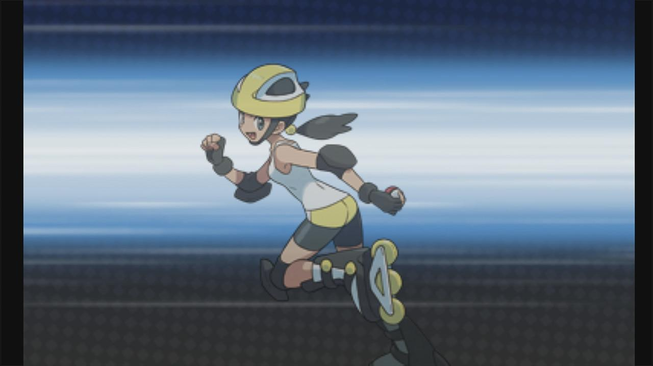 Pokemon X and Y Walkthrough Getting the Rollerskates