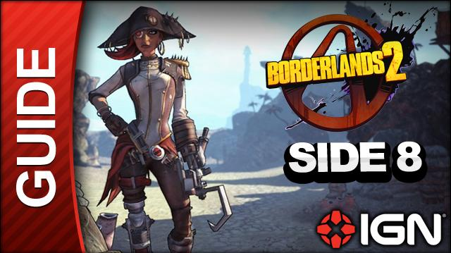 Borderlands 2 Captain Scarlett and Her Pirate's Booty DLC Walkthrough - Burying The Past - Side Mission (Part 8)
