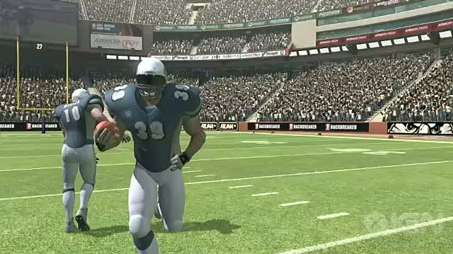 Backbreaker Xbox 360 Video - Trainning Camp Video 2 Running Game