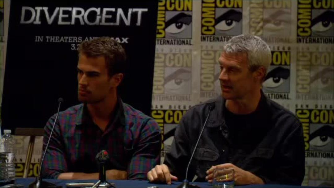 Divergent Comic-Con Press Conference Part 9