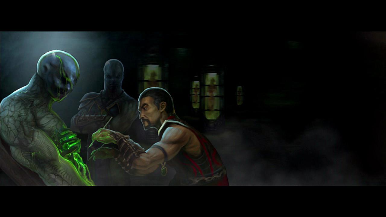 Mortal Kombat Reptile Ending