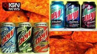 Pepsi Has Created Doritos-Flavored Mountain Dew - IGN News