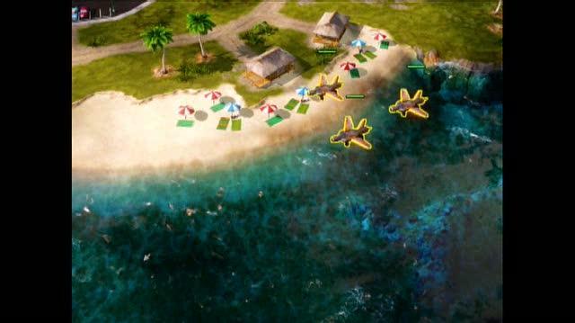 Command & Conquer Red Alert 3 Xbox 360 Video - E3 2008 Live Wire Demo