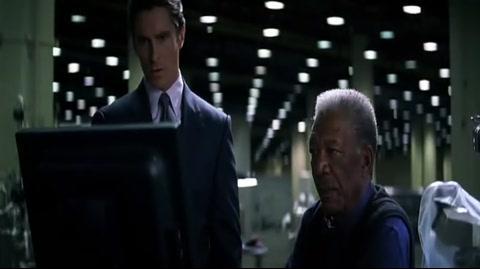 The Dark Knight - Fingerprints and memorial