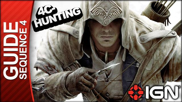 Assassin's Creed 3 - Sequence 4 Hunting Lessons - Walkthrough (Part 14)