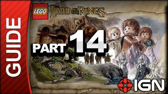LEGO The Lord of the Rings Walkthrough Part 14 - Cirith Ungol