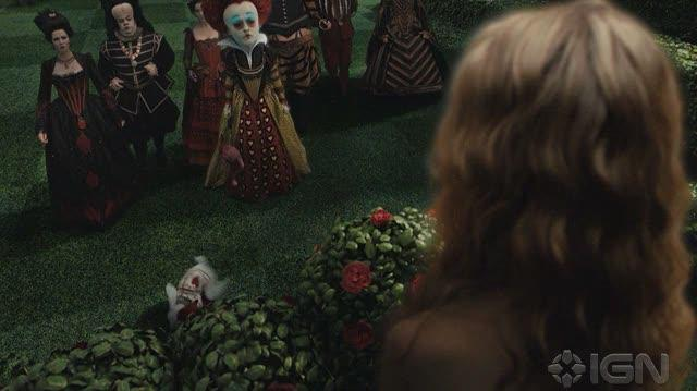 Alice in Wonderland (2010) Movie Clip - Clothe This Girl