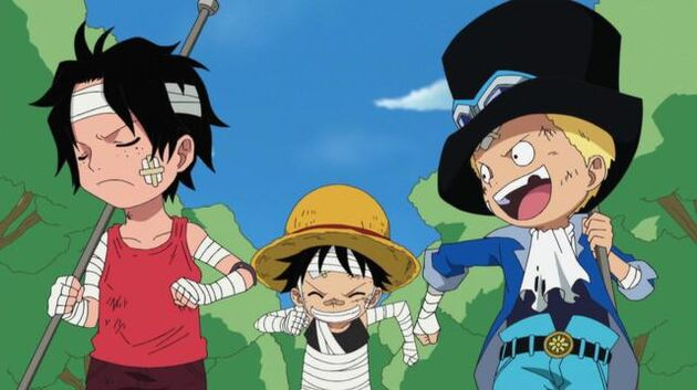 File One Piece - Episode 495 - I Won't Run! Ace's Desperate Rescue Operation!