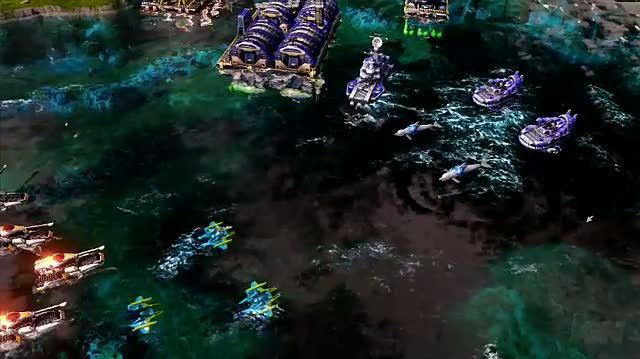 Command & Conquer Red Alert 3 PC Games Trailer - E3 Trailer