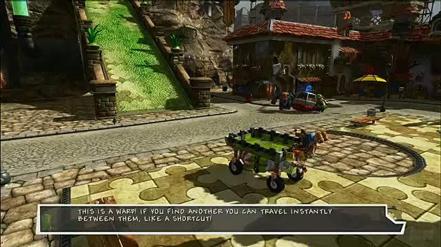 Banjo-Kazooie Nuts & Bolts Xbox 360 Feature-Commentary - Showdown Town Walkthrough