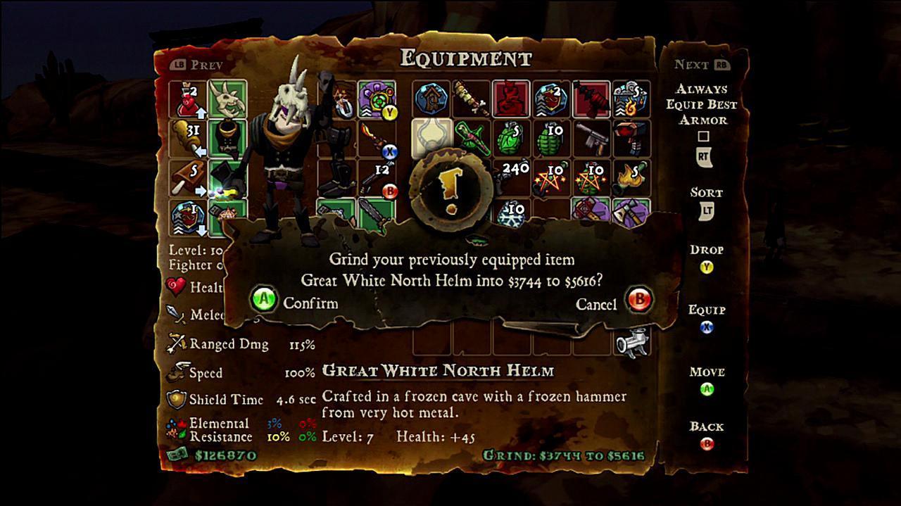 DeathSpank Thongs of Virtue - I Am The Lizardman Gameplay